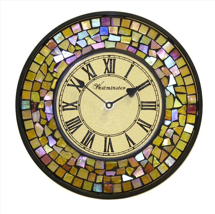 Reloj de pared mosaico 28cm - Mecanismo para reloj de pared ...