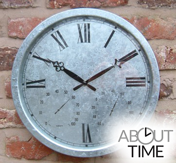 Reloj Galvanizado - 35cm - About Time�