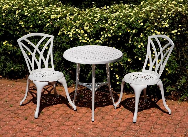 Conjunto de muebles de aluminio fundido para jard n m laga - Muebles jardin malaga ...