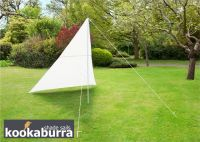 Kit Toldo Vela Triangular Marfil - 3mx3mx2.5m