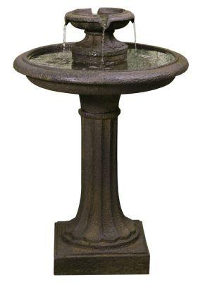Fuente de agua ba o para aves maleda - Fuente para pajaros ...