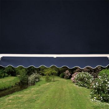 1.5m Toldo Est�ndar Manual de Color Azul