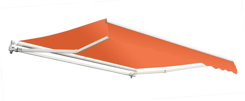 2.5m Toldo Econ�mico Manual Color Terracota