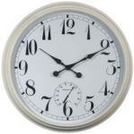 Reloj de Jard�n 'Big Time' - Blanco- 90cm - About Time�