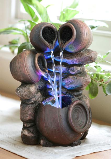 Fuente Tres Cántaros de Agua - Luces LED 54,99 €