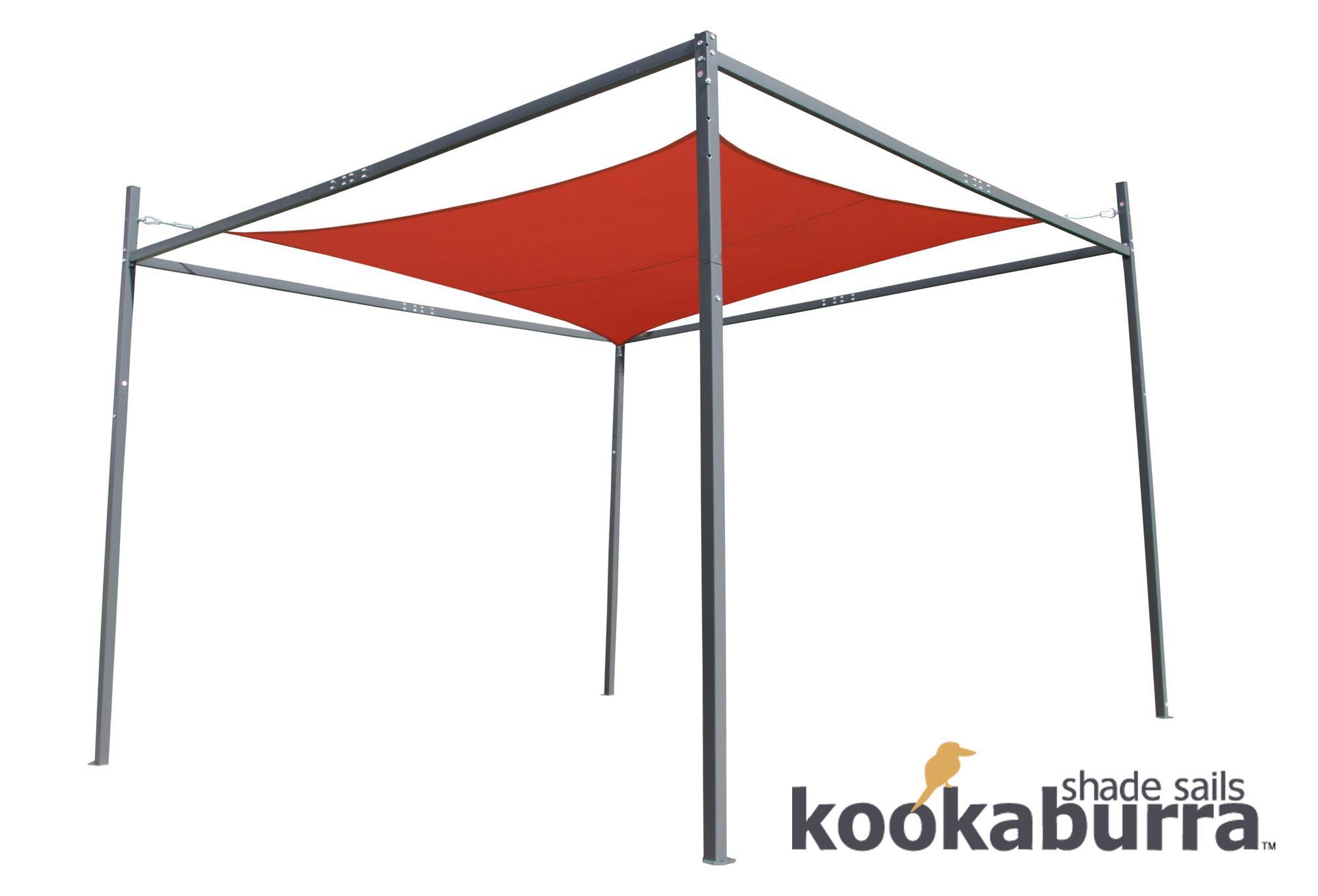 Estructura para toldos vela kookaburra x x 2 - Estructura para toldo enrollable ...