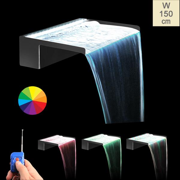 Tira de Luces LED de Colores para Cascadas con Mando a Distancia