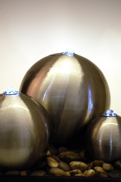 stainless steel triple ball