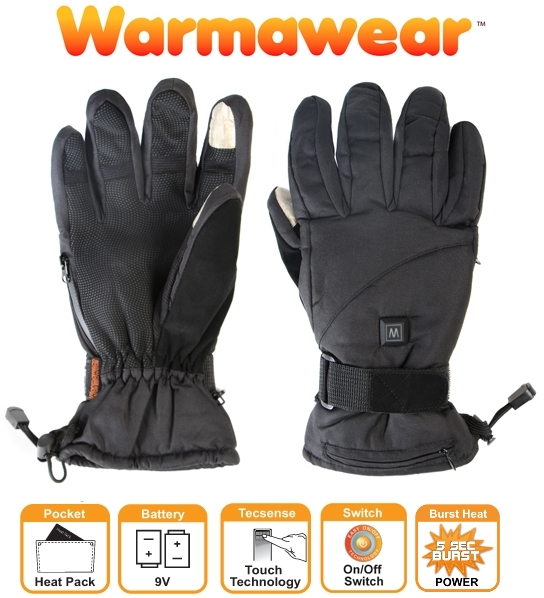 Guantes Calefactables Dual Fuel & Burst Power con 3 Posiciones de Calor - Warmawear™