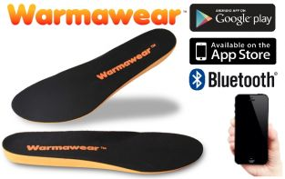 Plantillas Calefactables Impermeables con Bluetooth - Warmawear™