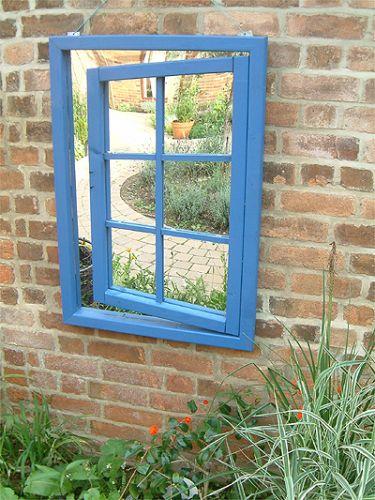 Espejo de jard n ilusionista ventana abierta 172 99 for Espejos para jardin