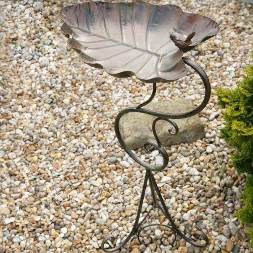 Bebederos para aves hoja coraz n 59 99 for Bebederos para aves jardin