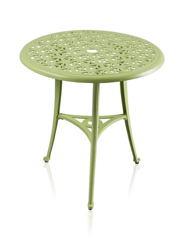 Conjunto de mesa de bistr para jard n de aluminio fundido for Mesa jardin aluminio