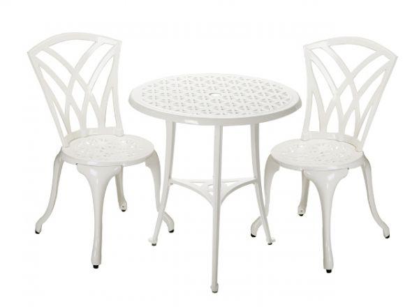Conjunto de muebles de aluminio fundido para jard n m laga for Muebles de jardin malaga