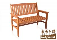 Banco de Jardín de 2 Plazas Oakham Earlywood™ 120cm