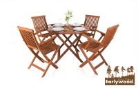 "Conjunto de Comedor de 4 Sillas ""Ilford"" Earlywood™"