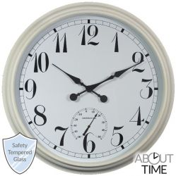 Reloj de Jardín 'Big Time' - Blanco- 90cm - About Time™