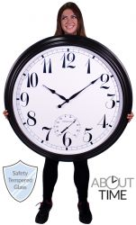 "Reloj de Exterior ""Big Time"" Negro - 90cm de About Time™"