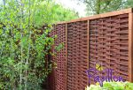 6ft (1.82m) Framed Willow Hurdles Fencing Panels Papillon™