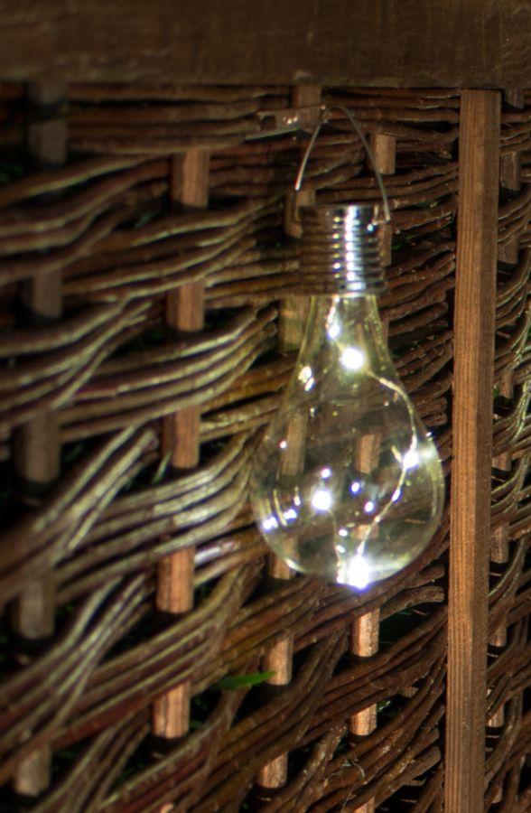 Luces solares en forma de bombilla para uso exterior pack de 3 by solaray 8 99 - Luces exterior solares ...