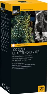 Guirnalda Solar - 100 luces LED