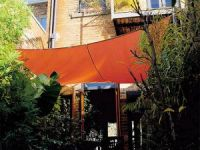 Toldo Vela Coolaroo de color Terracota