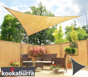 toldo vela econmico kookaburra arena triangular 36m transpirable 185g - Toldo Vela Rectangular