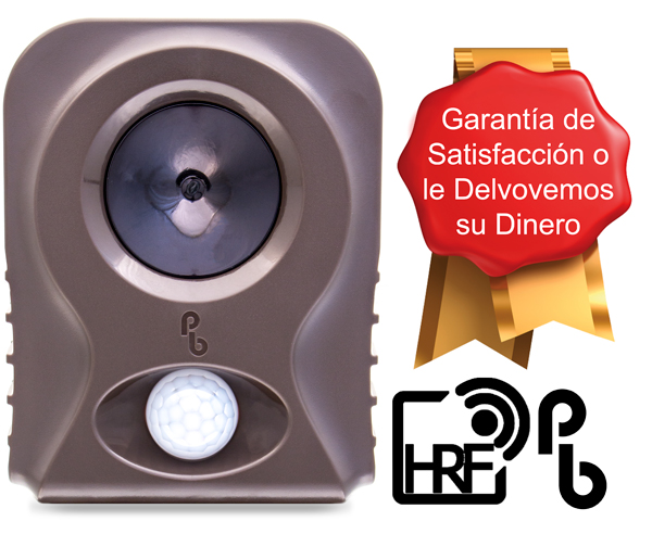 PestBye® Ahuyentador de Zorros con Sistemas HyperResonance Frequency™ y Behaviour Specific Timing™