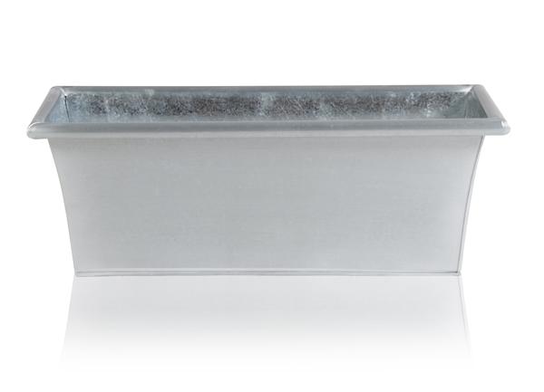 Macetero Alargado de Zinc Galvanizado - 50cm x 18cm 36,99 €