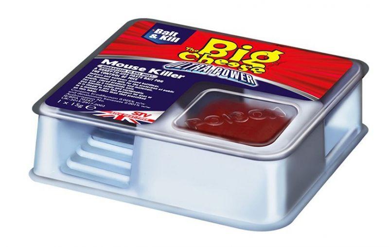 Caja con cebo contra ratones acci n potente paquete de - Ahuyentar avispas exterior ...