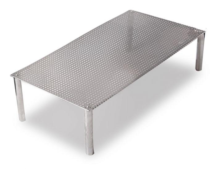 Rejilla Rectangular De Acero Inoxidable Para Estanque 70 X 40 X20 Cm - Estanque-rectangular