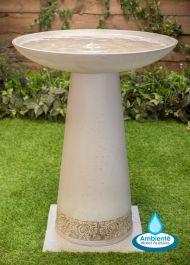 Fuentes solares ambient fuentes de jard n - Fuentes solares para jardin ...