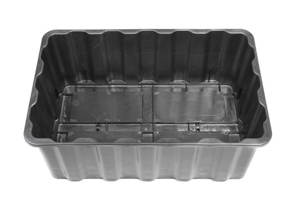 Estanque de pl stico resistente 200l kit completo 169 99 - Plastico para estanques ...