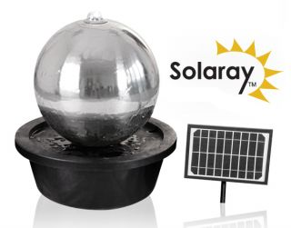 Esfera Solar  de Acero Inoxidable con Luces LED - 50 cm de  Solaray™