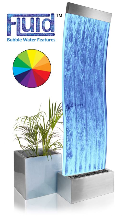 Pared de Agua con Burbujas y Luces LED - Cosmo - 183cm