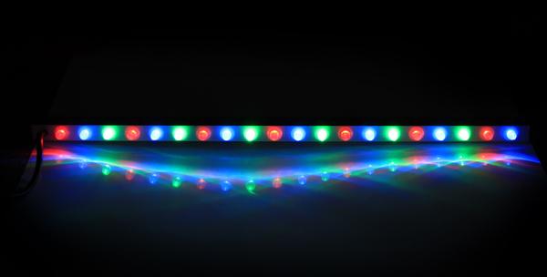 Tira de luces led de colores para cascadas con mando a - Luces led de colores ...
