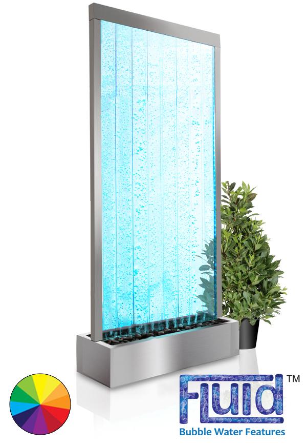 Pared de burbujas elysium con luces y mando a for Decoracion de interiores a distancia