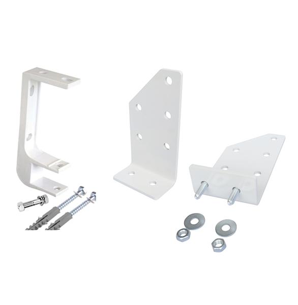 Kit de 3 soportes para viga de techo barra de torsi n de for Soporte para toldos enrollables