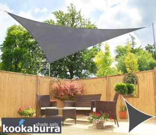 Toldos Vela Kookaburra® Carbón Triangular 3.0m (Transpirable)
