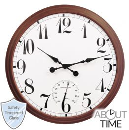 Reloj de Exterior Marrón - 90 cm de About Time™