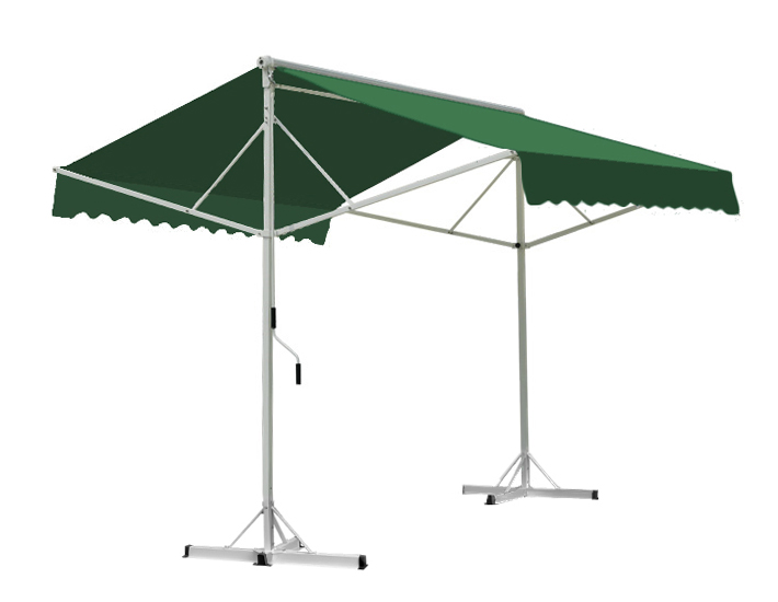 Toldo Doble 3.5m color Verde