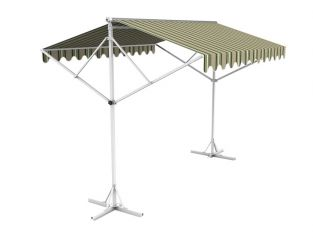 Toldo Doble 5.0m color Rayas Múltiples