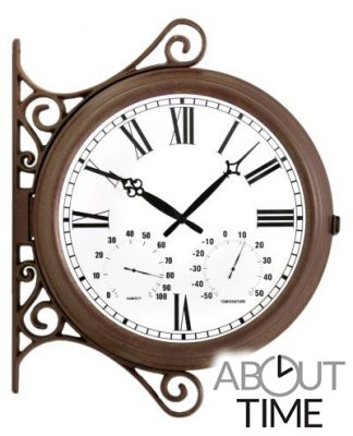 Reloj Decorativo con Dos Caras - 38cm - About Time™