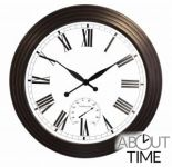 Reloj Gigante de Jardín - Marrón Antiguo - 69cm - About Time™