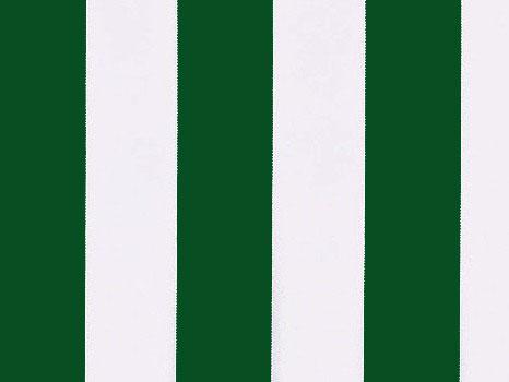 Lona de repuesto para toldo rayas verdes y blancas 4m x 3m for Repuesto para toldos lona
