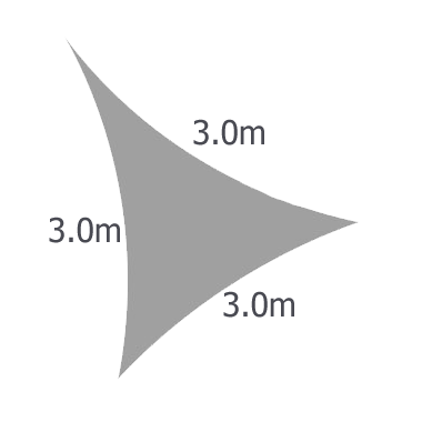 Triangular 3.0m