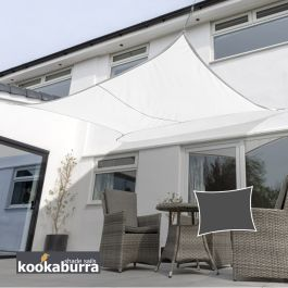 Toldos Vela Kookaburra® Blanco Polar Rectangular 6.0mx5.0m (Transpirable)