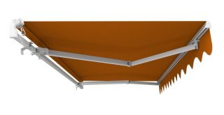 Toldo Estándar Manual de Color Terracota 5.0m