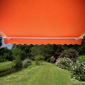 1.5m Toldo Semi-Cofre Manual de Color Terracota