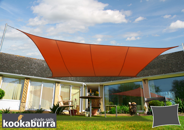 4.0m Toldo Semi-Cofre Manual de Color Terracota